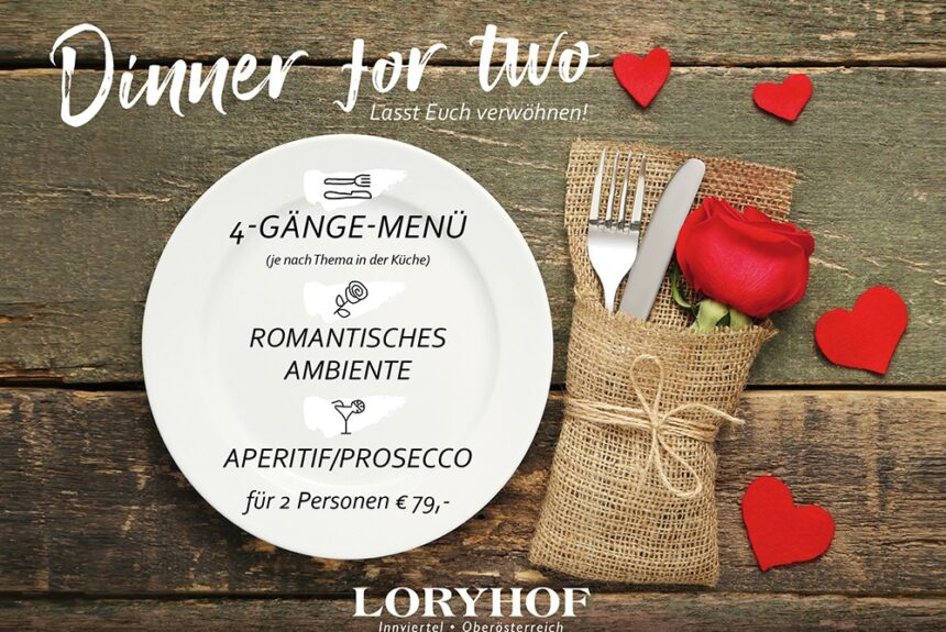 Dinner for two – Gutscheine verschenken